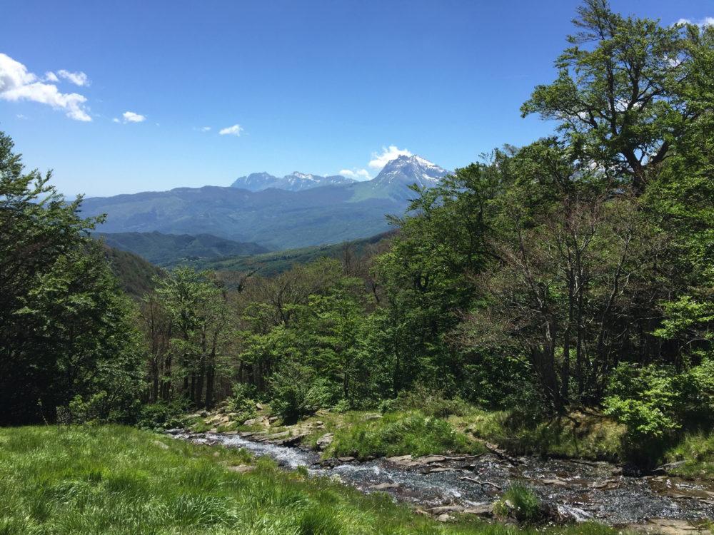 Lo spettacolo naturale delle 100 cascate @ Monti Della Laga