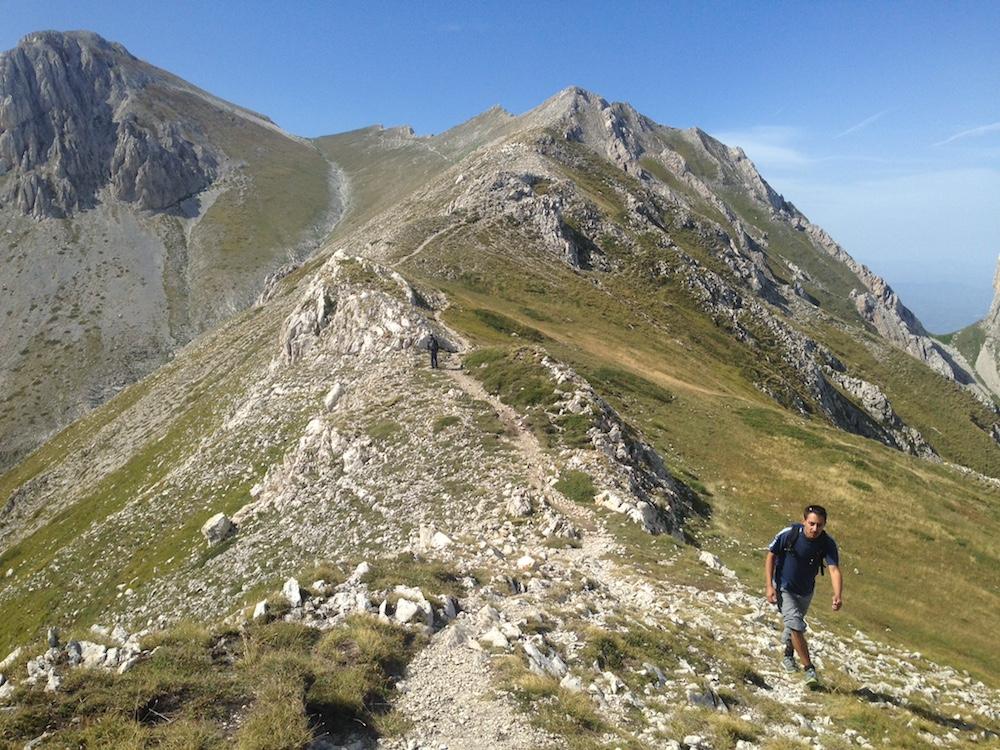 In cima al Monte Camicia 1