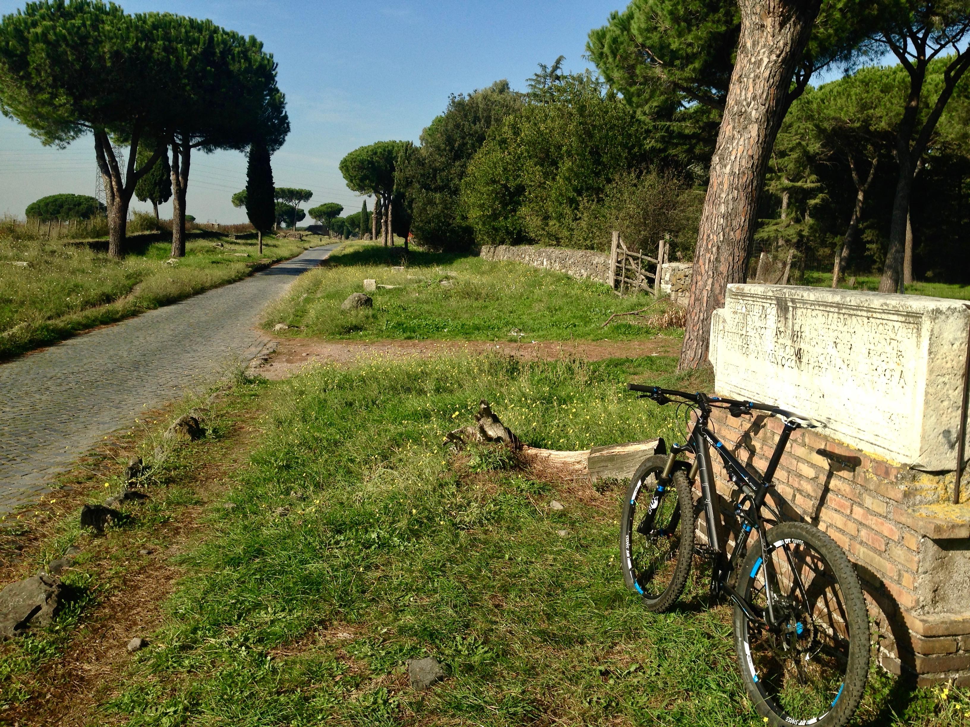 Cicloescursione storica dei parchi di Roma @ Roma