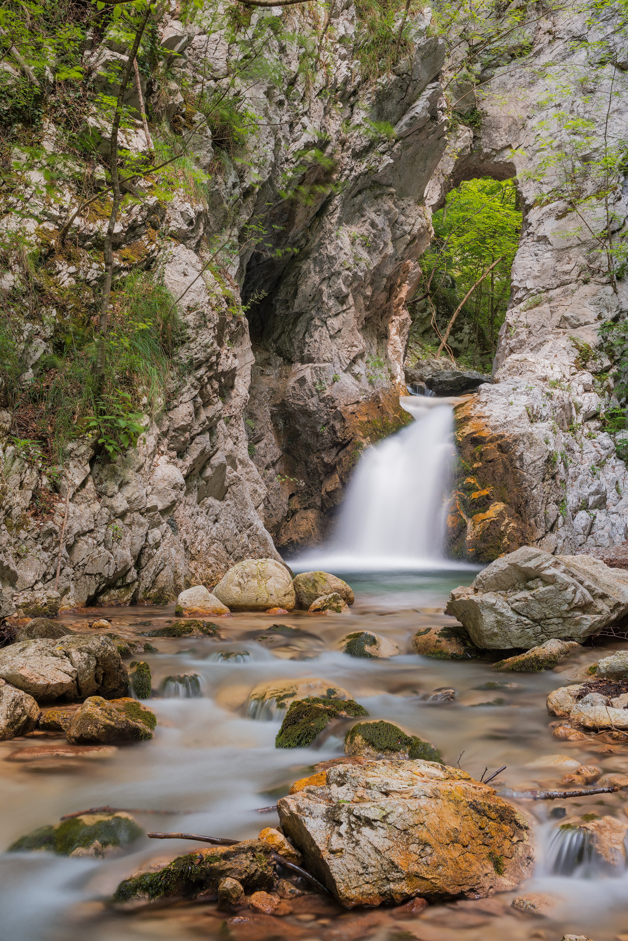 Escursione alle sorgenti di Capofiume 1
