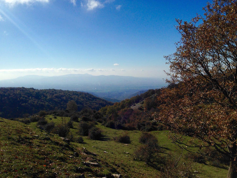 Da Guadagnolo al Santuario della Mentorella @ Monti Prenestini