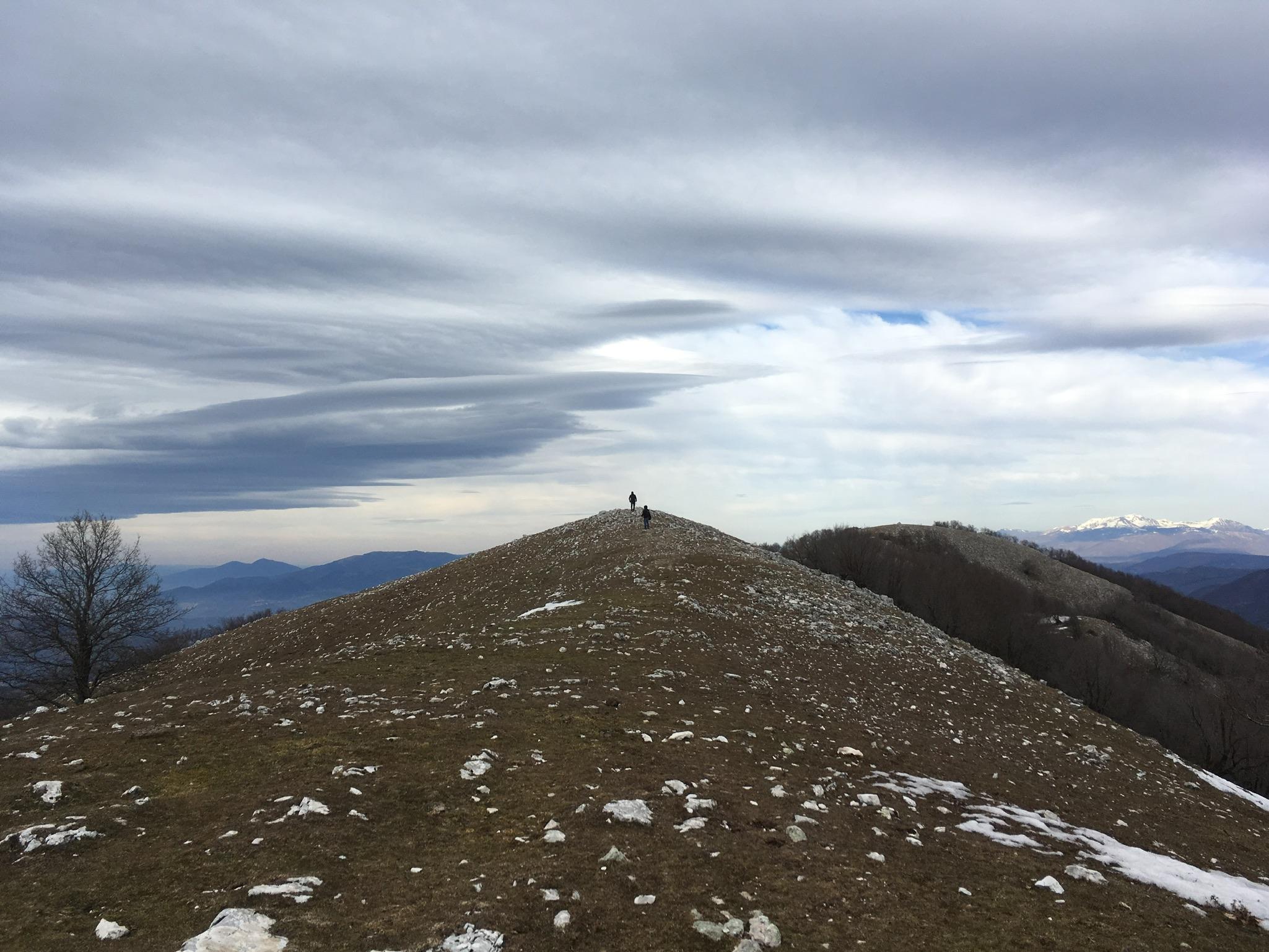 Il Monte Pellecchia, la vetta più alta dei Lucretili @ Parco Regionale dei Monti Lucretili