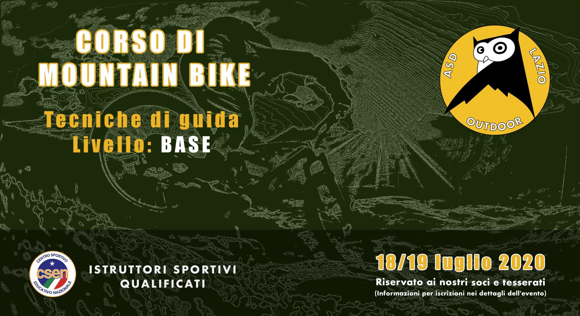 Corso di guida Mountain Bike - Livello Base 1