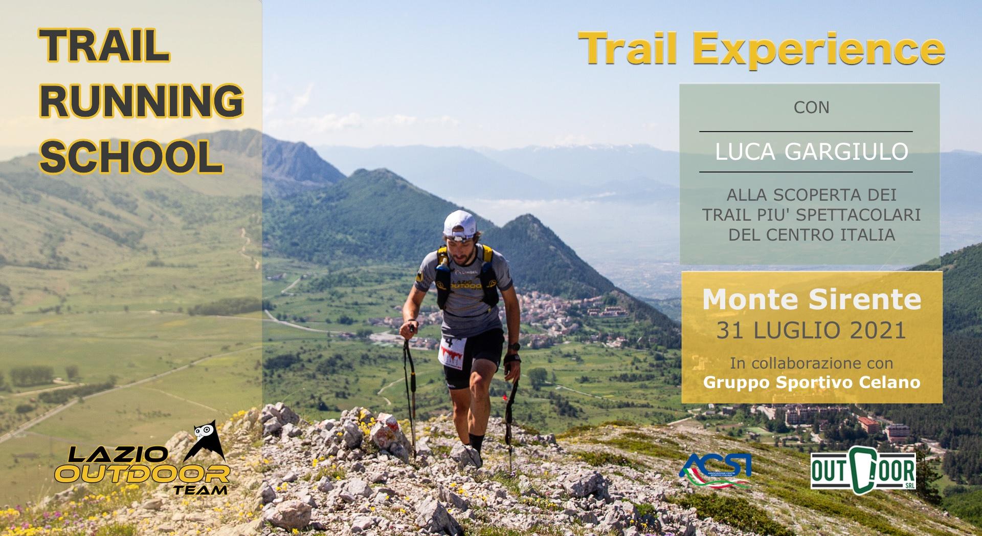 Trail Running School - Experience 1